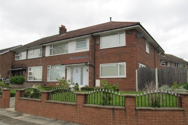 Thumbnail Semi-detached house to rent in Standmoor Road, Whitefield, Manchester