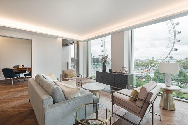 Thumbnail Flat to rent in Belvedere Road, Southbank, London