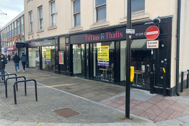 Thumbnail Restaurant/cafe for sale in West Street, Fareham