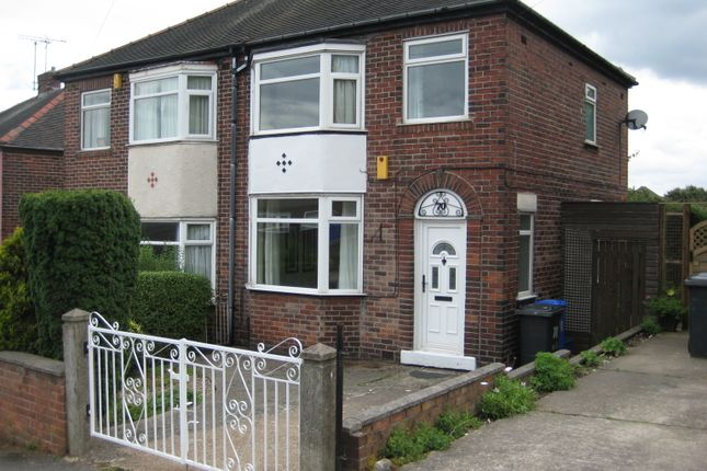 Thumbnail Semi-detached house to rent in Seagrave Crescent, Sheffield