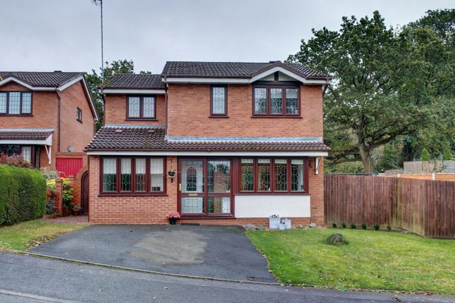 4 bed detached house for sale in Church Down Close, Crabbs Cross, Redditch B97