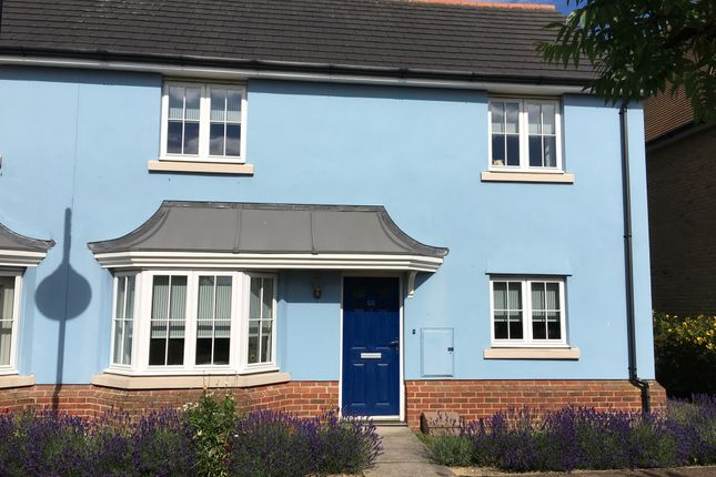 Thumbnail End terrace house for sale in Meadow Park, Braintree