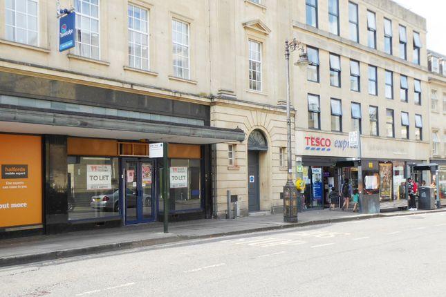 Thumbnail Retail premises to let in Westgate Buildings, Bath