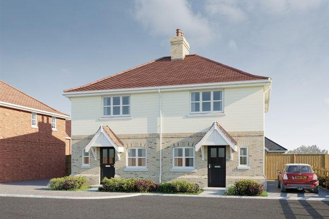 Thumbnail Semi-detached house for sale in The Primrose, Plot 48, Latchingdon Park, Latchingdon, Essex