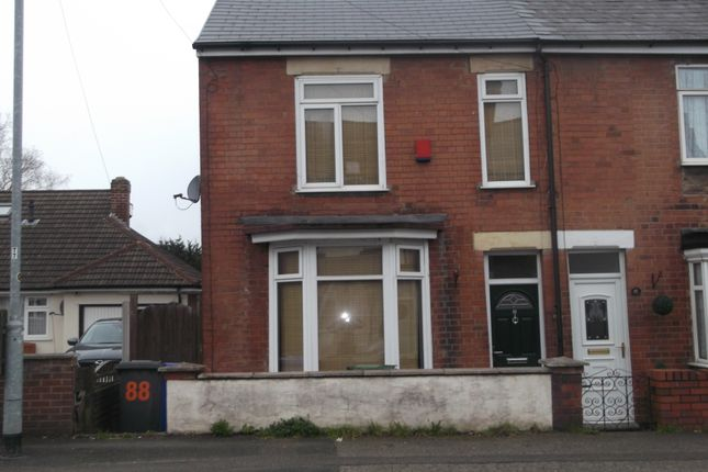 Thumbnail End terrace house to rent in Kettlebrook Road, Tamworth