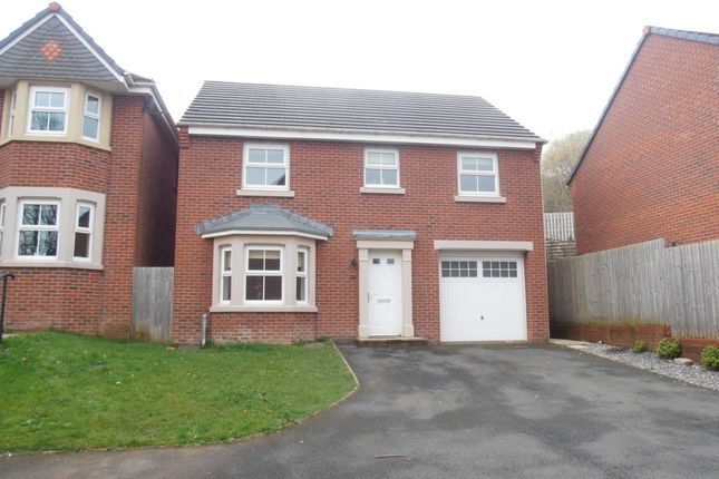 Thumbnail Detached house to rent in Glas Y Gors, Aberdare