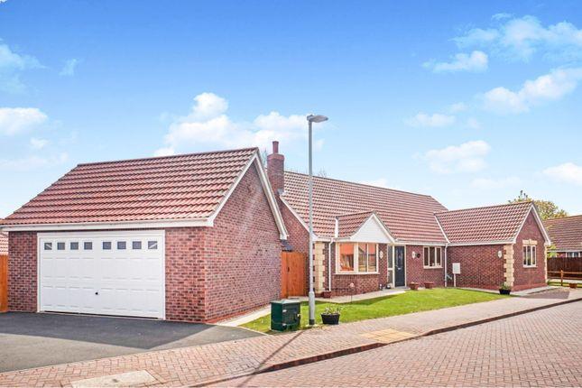 Thumbnail Detached bungalow for sale in Cullen Close, Billinghay