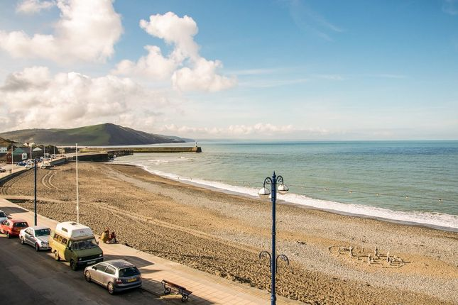 Thumbnail Flat for sale in South Marine Terrace, Aberystwyth