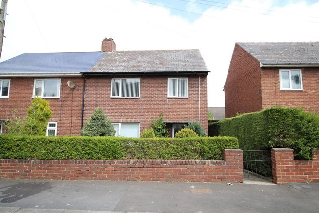Thumbnail Terraced house to rent in Warwick Avenue, Consett