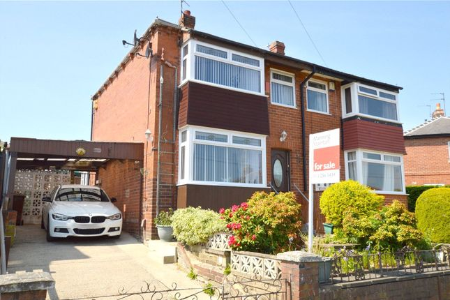 Thumbnail Semi-detached house for sale in Aston Drive, Bramley, Leeds