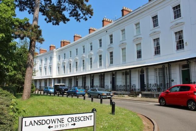 Thumbnail Flat to rent in Lansdowne Crescent Willes Road, Leamington Spa