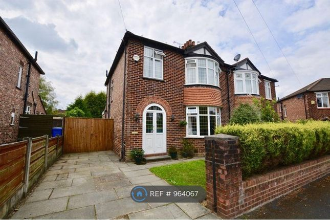 3 bed semi-detached house to rent in Queens Drive, Cheadle Hulme, Cheadle SK8