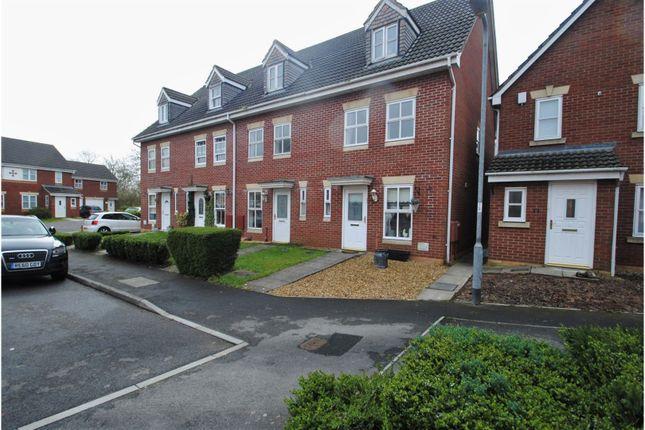 Thumbnail End terrace house for sale in Station Walk, Highbridge