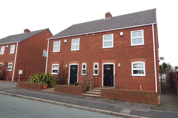 Thumbnail Semi-detached house to rent in Cross Street, Burntwood