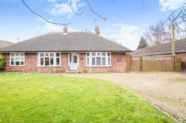 Thumbnail Bungalow for sale in Southery, Downham Market, Norfolk
