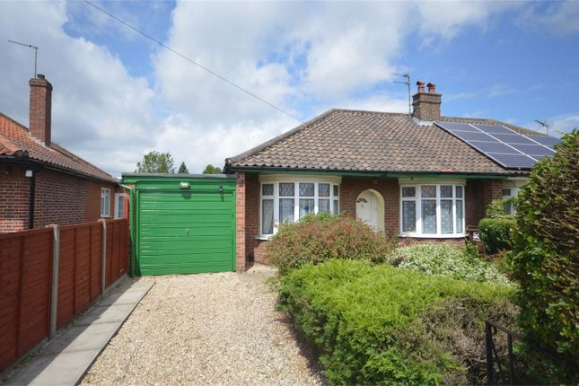 Thumbnail Semi-detached bungalow for sale in Alford Grove, Sprowston, Norwich