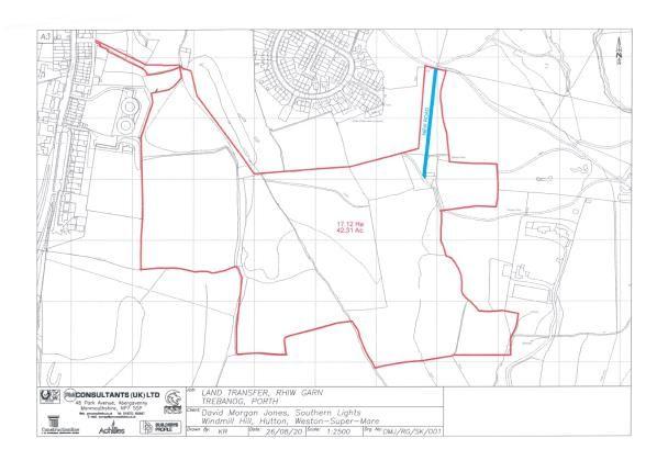 Thumbnail Land for sale in Rhiwgarn Fawr Farm, Porth, Rhondda Cynon Taff