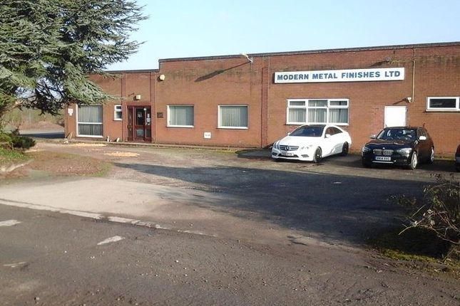 Thumbnail Light industrial for sale in Former Modern Metal Finishes, Ellifoot Lane, Burstwick, Hull, East Yorkshire