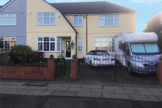 Thumbnail Semi-detached house for sale in Tarbock Road, Huyton, Liverpool, Merseyside