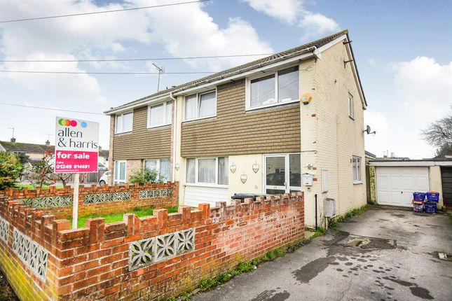 Thumbnail Semi-detached house for sale in Ridgemead, Calne