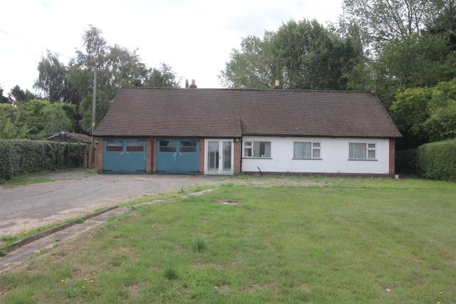 Thumbnail Detached bungalow for sale in Leicester Lane, Desford, Leicester