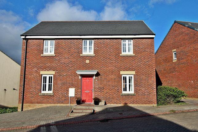Thumbnail Detached house for sale in Lonydd Glas, Llanharan, Pontyclun, Rhondda, Cynon, Taff.