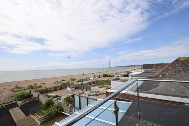Balcony View of Coast Road, Pevensey Bay BN24
