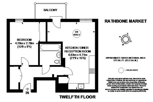 Floor Plan of Rathbone Market, Barking Road, London E16