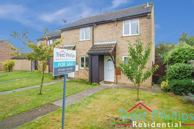 End terrace house for sale in Harebell Way, Carlton Colville, Lowestoft