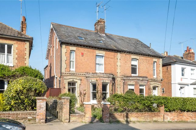Thumbnail Semi-detached house for sale in Ranelagh Road, St Cross, Winchester