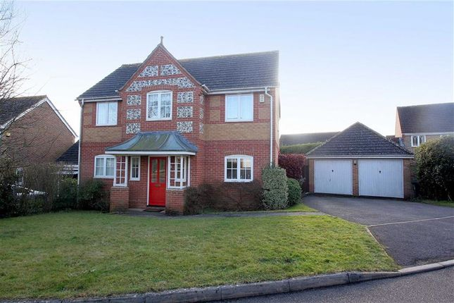 Thumbnail Detached house to rent in Wansey Gardens, Newbury