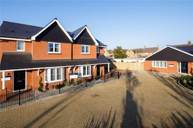 Thumbnail Semi-detached house for sale in The Grove, Stanbridge Road, Haddenham, Buckinghamshire