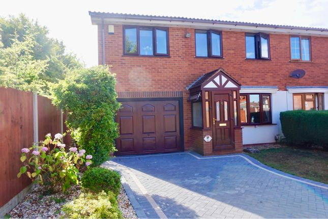 Thumbnail Semi-detached house for sale in Woodrush Heath, Telford
