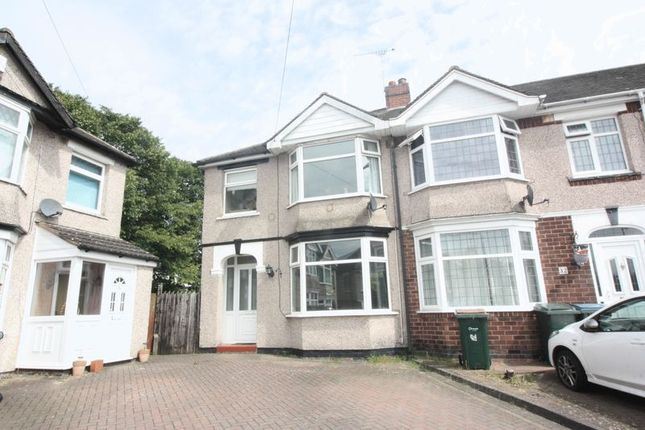 3 bed end terrace house for sale in Timothy Grove, Coventry