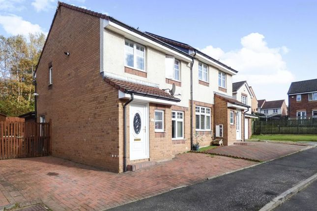 Thumbnail Semi-detached house for sale in Higherness Way, Coatbridge