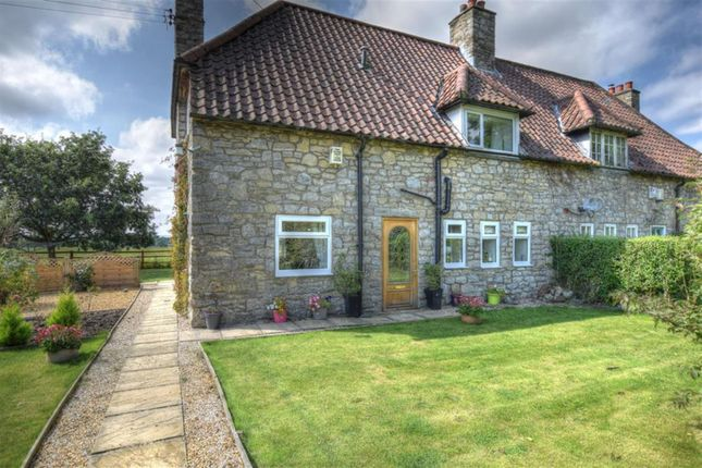 3 bed semi-detached house for sale in The Cottages, Cartoft, Kirkbymoorside, York