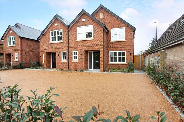 Thumbnail Semi-detached house for sale in Brachen House, Hatch Lane, Windsor, Berkshire