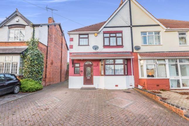 Thumbnail Semi-detached house for sale in Gibbins Road, Birmingham, West Midlands