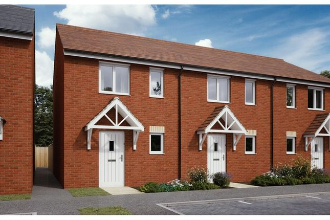 2 bed terraced house for sale in Plots 153, 154, 160 & 161 Hele Park, Bugle Place, Newton Abbot, Devon