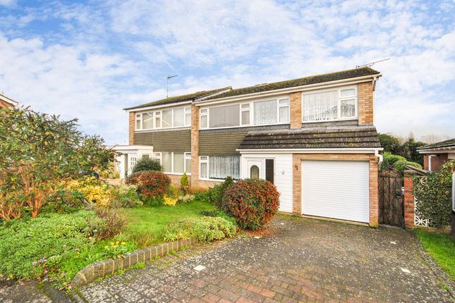 Thumbnail Semi-detached house for sale in Parkway, Sawbridgeworth, Hertfordshire
