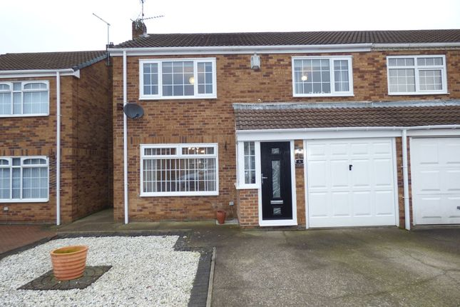 Thumbnail Semi-detached house for sale in Glebe Mews, Bedlington