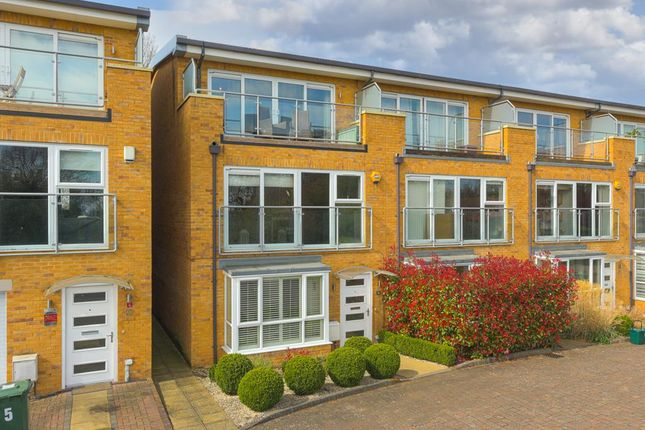Thumbnail End terrace house for sale in Barn Elms Close, Old Malden, Worcester Park