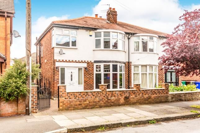 Thumbnail Semi-detached house for sale in Newport Road, Chorlton, Manchester, Greater Manchester