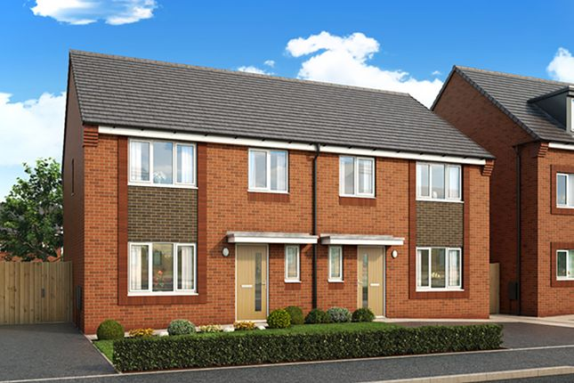 "Thumbnail Property for sale in ""The Clifton"" at Central Avenue, Speke, Liverpool"