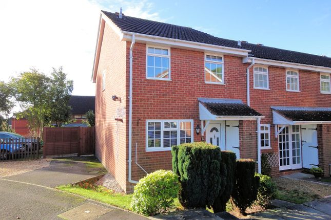 Thumbnail End terrace house to rent in Monarch Close, Locks Heath, Southampton