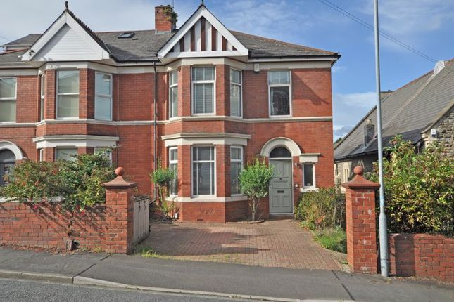 Thumbnail Semi-detached house for sale in Large Period House, Llanthewy Road, Newport