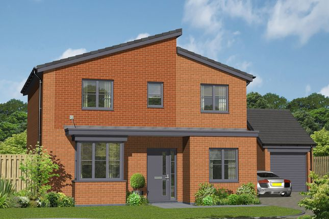 Thumbnail Detached house for sale in Plot 18, The Bransdale, Hansons View, Kimberley, Nottingham