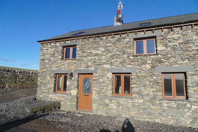 Thumbnail Barn conversion to rent in Middle Mansriggs, Ulverston, Cumbria