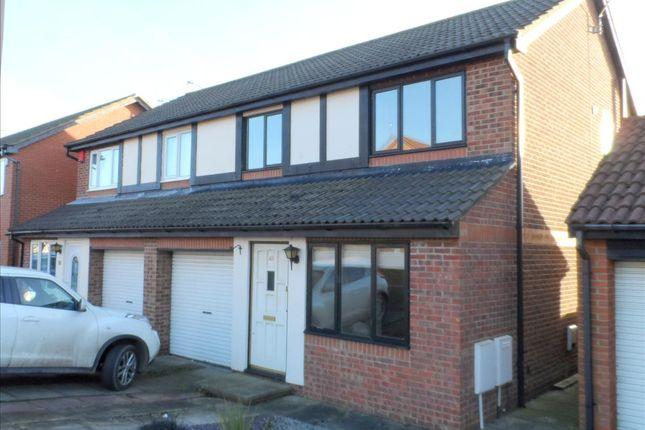 Thumbnail Semi-detached house to rent in Coleridge Drive, Choppington