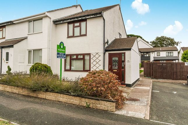 Thumbnail Terraced house to rent in St. Boniface Drive, Plymouth